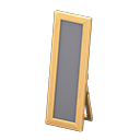 Wooden full-length mirror Image Tag