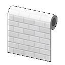 Image of White subway-tile wall