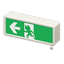 Exit sign Image Tag