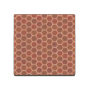Brown honeycomb tile Image Tag