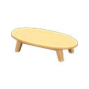 Wooden low table Image Tag