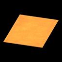Simple medium orange mat Image Tag