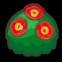 Image of Red-camellia bush