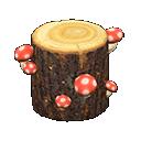 Image of Mush log