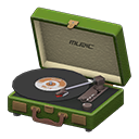Portable record player Image Tag