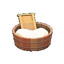 Image of Old-fashioned washtub