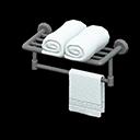 Image of Bathroom towel rack